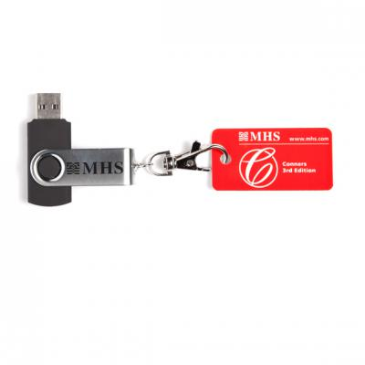 Conners 3 Software Installation USB Key