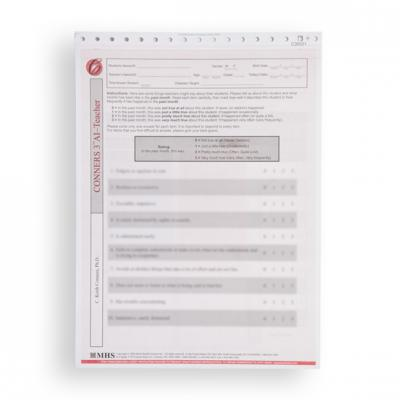Conners 3 ADHD Index (AI) Teacher Forms