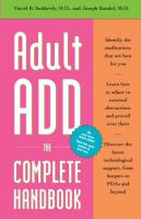 Adult ADHD: The Complete Handbook