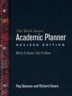 The Work-Smart Academic Planner Revised Edition Write It Down, Get It Done