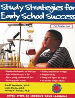 Study Stategies for Early School Success