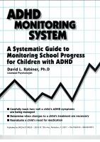 The ADHD Monitoring System