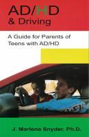 AD/HD & Driving