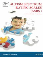 ASRS (2-5 Years) Handscored Kit with DSM-5 Update