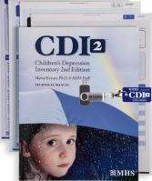 Children's Depression Inventory 2 (CDI 2) Complete Software Kit
